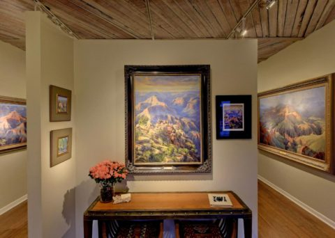 Amery is known for her vibrant straight forward paintings of the Grand Canyon!