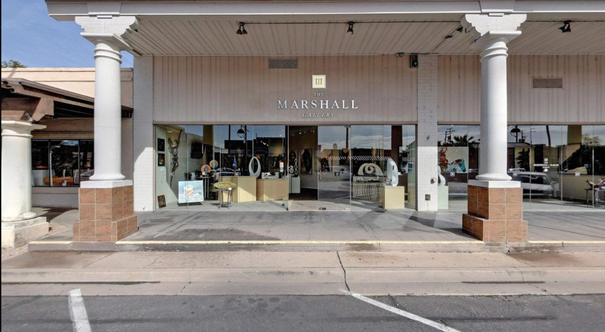 Find the Marshall Gallery on Marshall Way