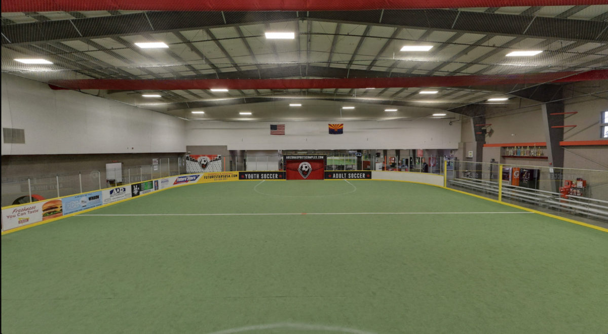 Largest indoor field in AZ