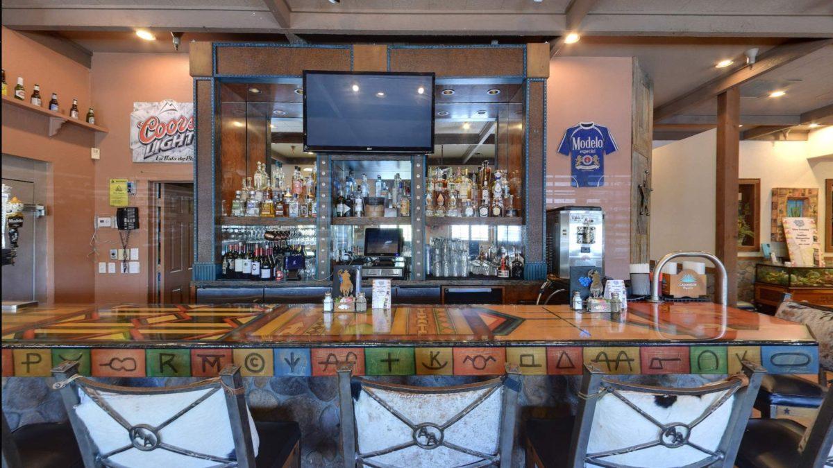 A full bar + Margaritas